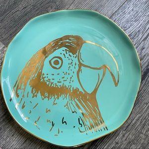 Arlington Design Parrot Salad plate
